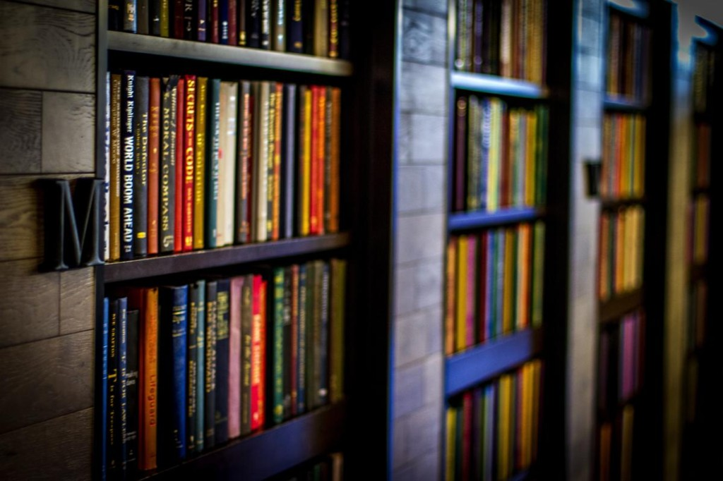 Bookshelves Denver Bar